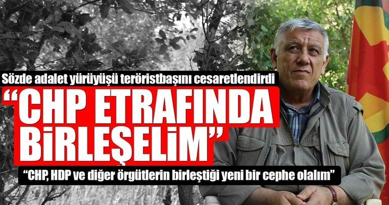PKK'lı Cemil Bayık'tan CHP'ye ittifak çağrısı
