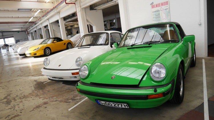 Geçmişe götüren Porsche müzesi
