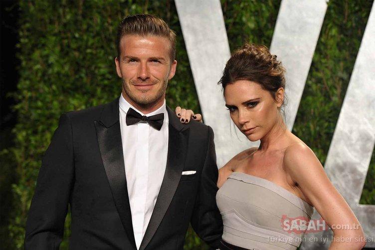 Victoria Beckham kuralını bozudu! Victoria Beckham'ın bornozlu pozuna eşi David Beckham bile yorum yaptı...