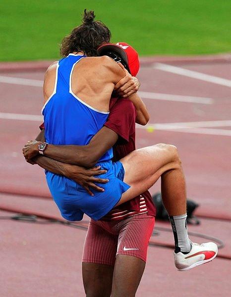 Yüksek atlamada çifte şampiyon! Barshim ve Tamberi birlikte kazandı - Son  Dakika Spor Haberleri