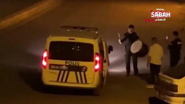 Şanlıurfa'da polis sahurda ramazan davulu çaldı