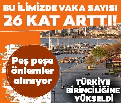 Son dakika haberi: Çanakkale'de korkutan gelişme! 26 kat arttı: Türkiye birinciliğine yükseldi
