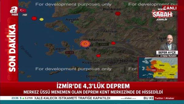 Son dakika haberi... İzmir'de deprem oldu! İşte ilk bilgiler