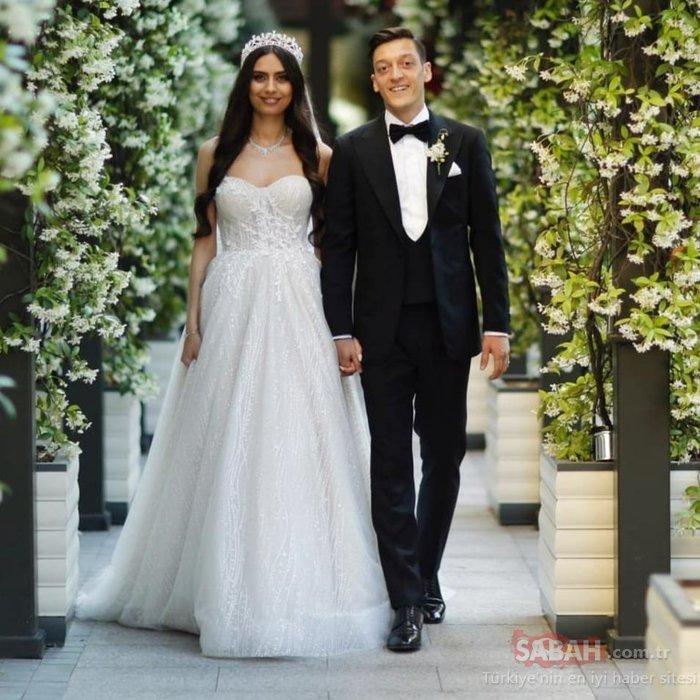 Amine Gülşe ile Mesut Özil'den müjdeli haber! Amine Gülşe hamile...