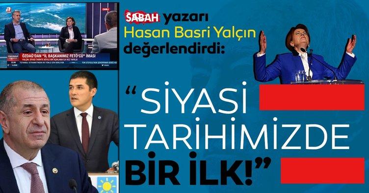 SABAH Gazetesi yazarı Hasan Basri Yalçın Ümit Özdağ'ın FETÖ itirafını değerlendirdi! Siyasi tarihte böyle bir açıklama ilk kez yapıldı