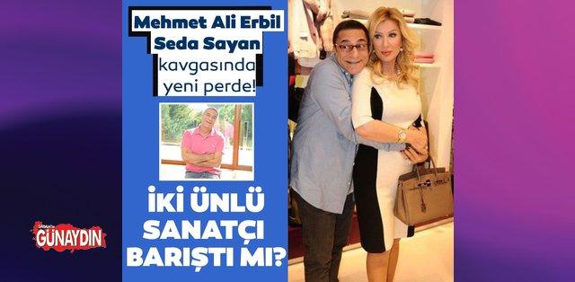 Seda Sayan ve Mehmet Ali Erbil arasındaki buzlar eridi! - Son Dakika Magazin Haberleri