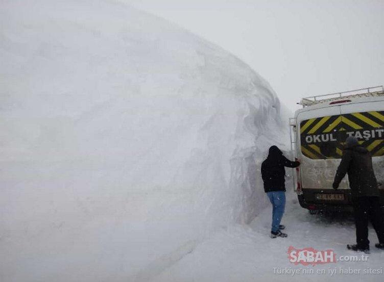 Türkiye genelinde nerede kaç santim kar var? İşte kayak merkezlerindeki şaşırtan rakamlar...
