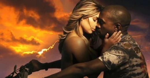 Kim Kardashian nişanlısının klibinde oynadı