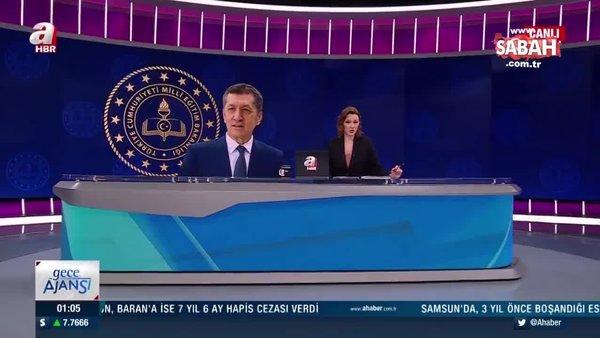 Son dakika: Milli Eğitim Bakanı Ziya Selçuk'tan flaş yüz yüze sınav açıklaması | Video