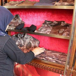Şehit oğulları için evlerinin en üst katını müzeye çevirdiler