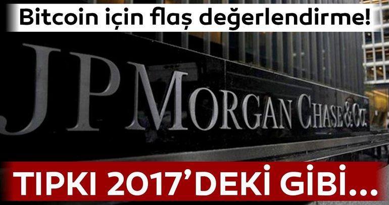 JP Morgan'dan flaş Bitcoin değerlendirmesi!