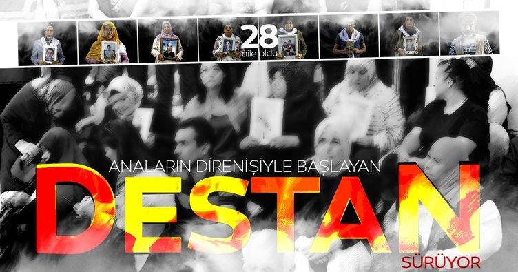 Analar evlat nöbetiyle destan yazıyor! HDP önünde bekleyen aile sayısı 28'e çıktı