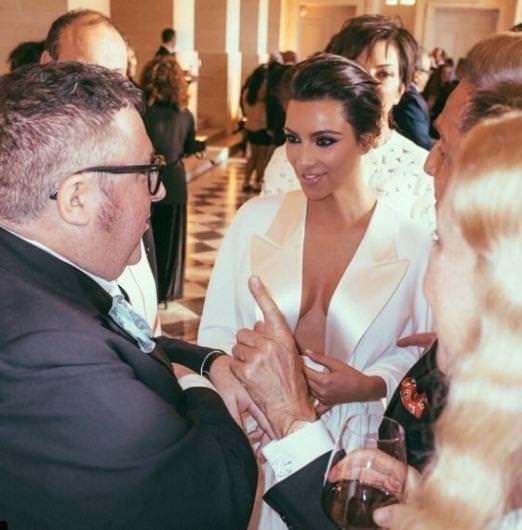 Kim Kardashian ve Kanye West'ten olay fotoğraf
