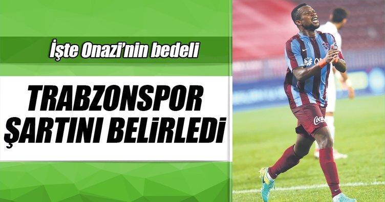 Trabzonspor, Onazi'nin bedelini belirledi