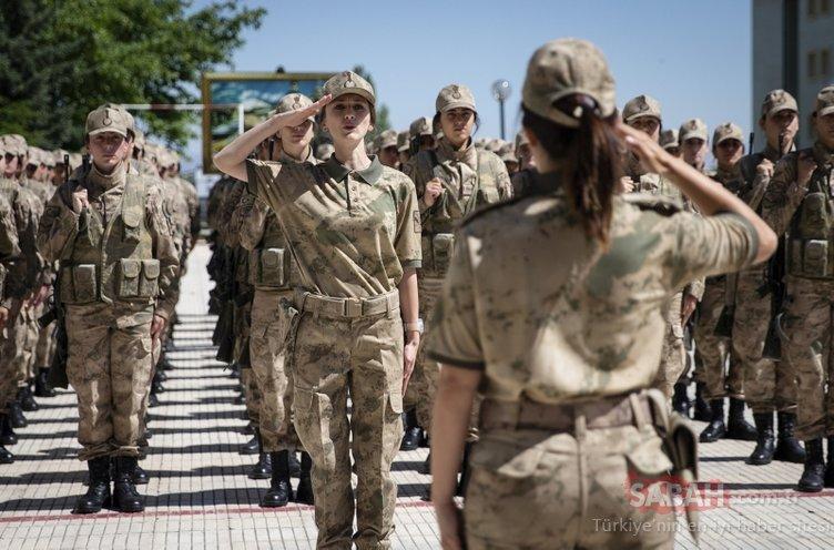 Geleceğin kahraman kadın jandarmalarını onlar yetiştiriyor