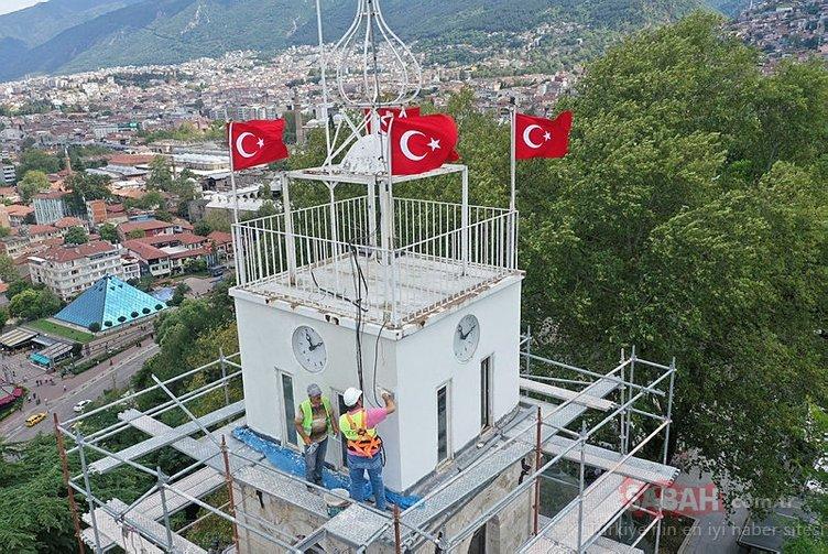 Restore edilen Tarihi Saat Kulesi ile ilgili önemli bir detay ortaya çıktı