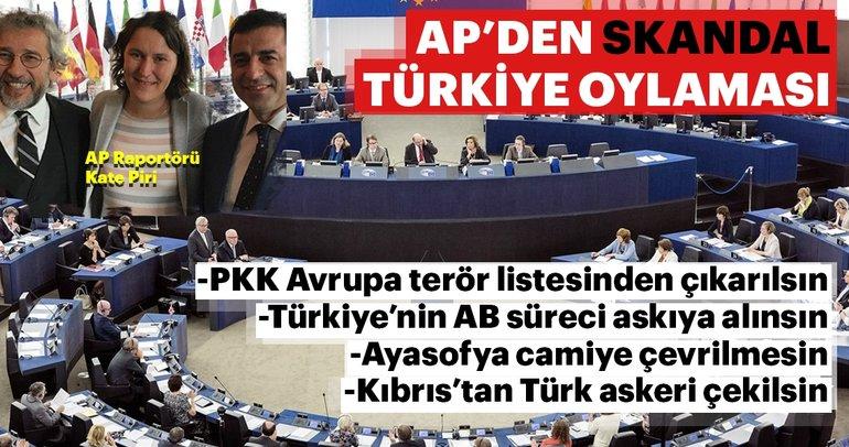 Avrupa Parlamentosu'nun niyeti ne? Parlamento'da Türkiye karşıtı oylama