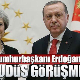Cumhurbaşkanı Erdoğan'dan kritik Kudüs görüşmesi