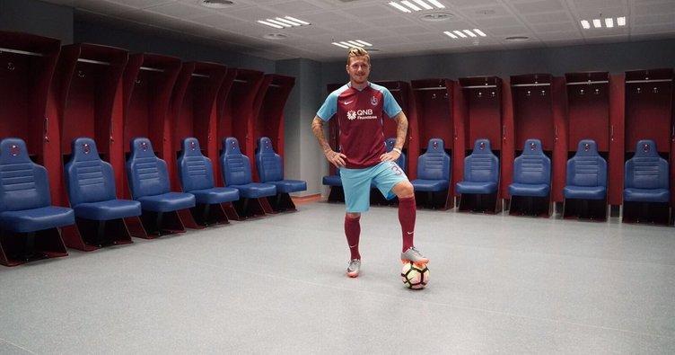 Trabzonspor yeni transferi resmen duyurdu!