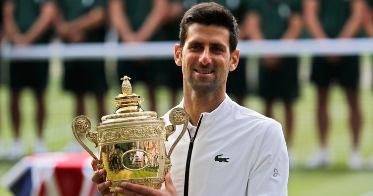 Wimbledon tarihinin en uzun finalinde Roger Federer'i geçti... Şampiyon Novak Djokovic!