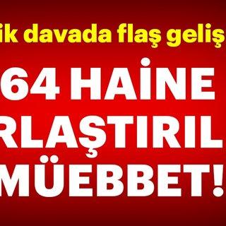 Son dakika: TRT Harbiye binası ve Taksim Meydanı işgal davasında 64 sanığa müebbet!
