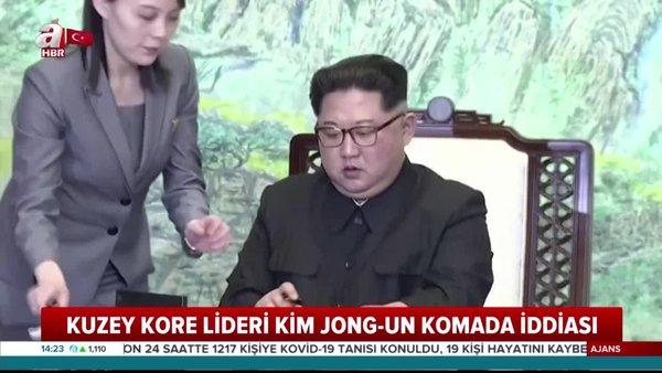 ABD basınından Kuzey Kore lideri Kim Jong-un komada iddiası! | Video