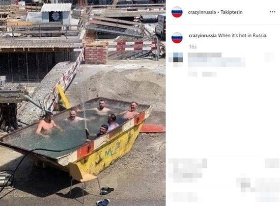 Onları başka yerde aramayın! Rusya'dan ilginç manzaralar