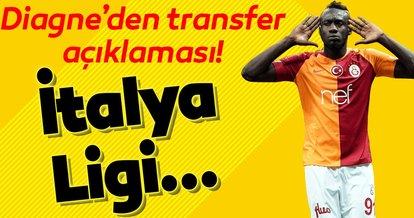 Galatasaraylı Diagne'den transfer sözleri! İtalya Ligi...