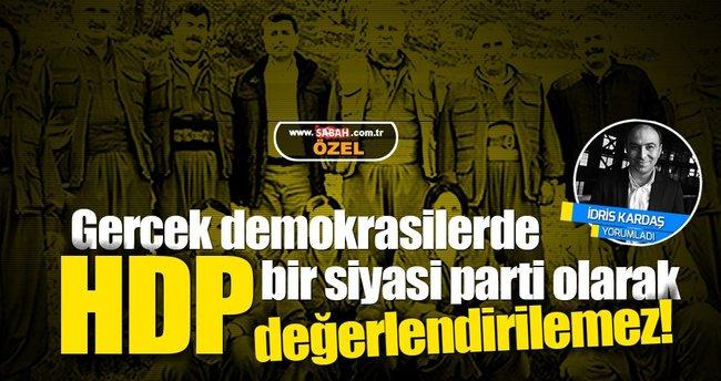 İdris Kardaş: Gerçek demokrasilerde HDP'ye parti gözüyle bakılmaz