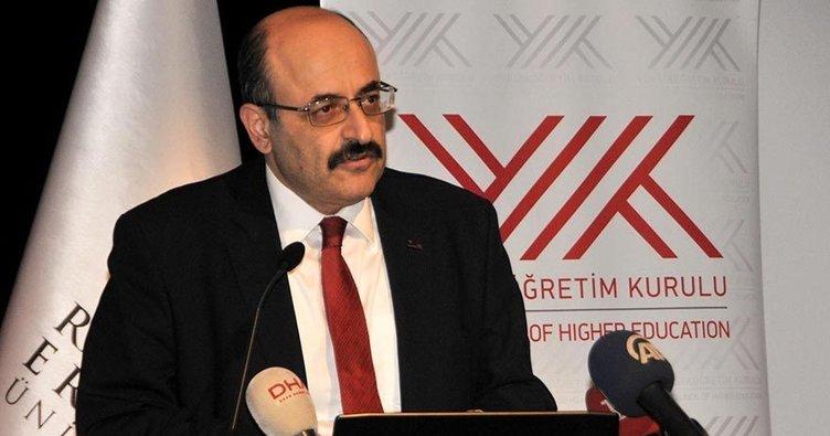 YÖK Başkanı Saraç ve YÖK üyelerinden birer maaş destek