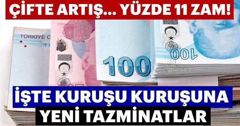 2019 yeni kıdem tazminatları!