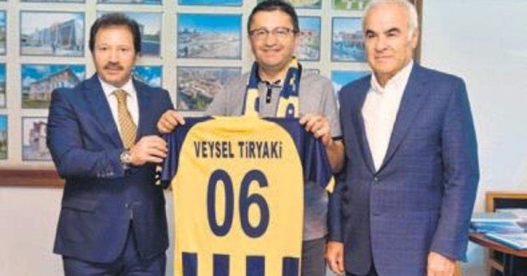 Mehmet Yiğiner'den Başkan Tiryaki'ye ziyaret