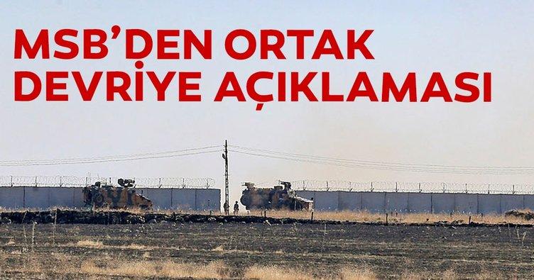 MSB: Türk-Rus kara devriyesi, provokatörlere hassasiyet gösterilerek tamamlandı