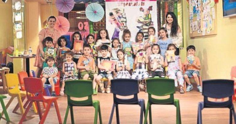 Çocuklar kitap okumayı seviyor