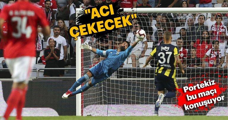 Benfica-Fenerbahçe maçı Portekiz basınında