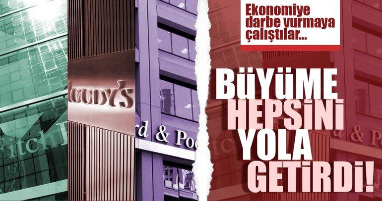 Ekonomiye darbe vurmaya çalıştılar, Türkiye büyüyünce sıraya girdiler!