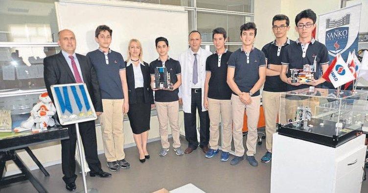 SANKO Okulları dünya birincisi
