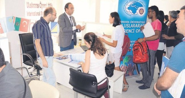 AÜ'ye 150 yabancı öğrenci kaydoldu