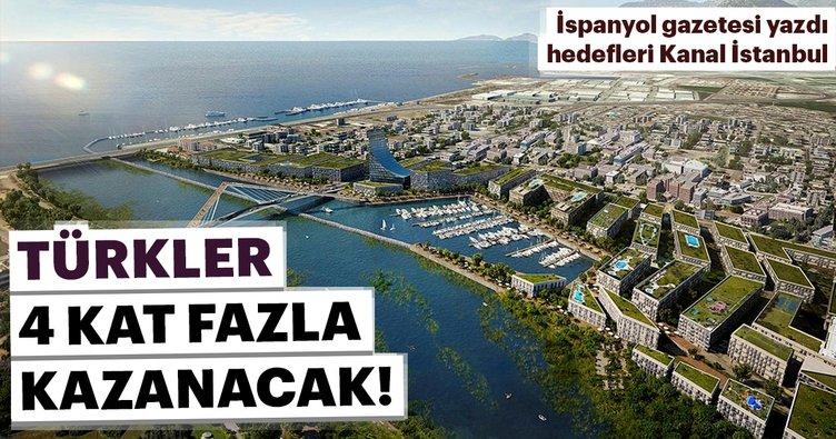 Yeni hedefleri Kanal İstanbul! Türkler 4 kat daha fazla gelir sağlayacak