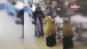 Markette boks yapan teyzeler sosyal medyada olay oldu!