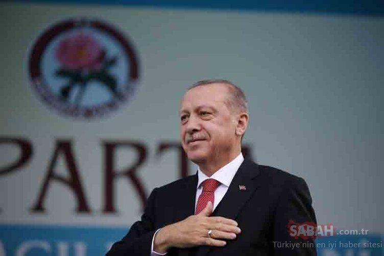 Cumhurbaşkanı Erdoğan, Isparta'da toplu açılış töreninde konuştu