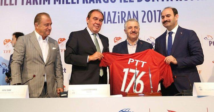 TFF ile PTT sponsorluk anlaşması imzaladı