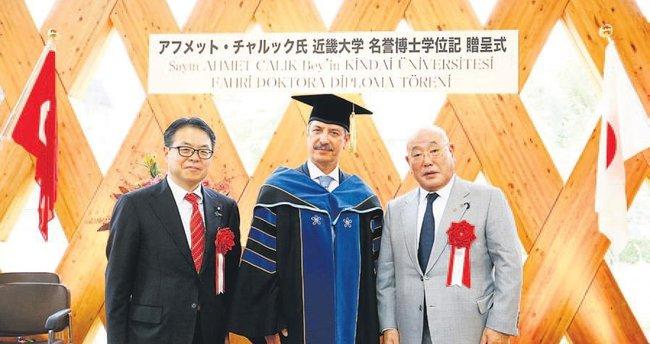 Çalık'a Japonya'dan doktora unvanı