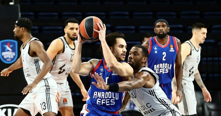 SON DAKİKA: THY EuroLeague maçında Anadolu Efes Asvel'i farklı mağlup etti!