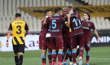 AEK 1-3 Trabzonspor: Maçın röntgeni