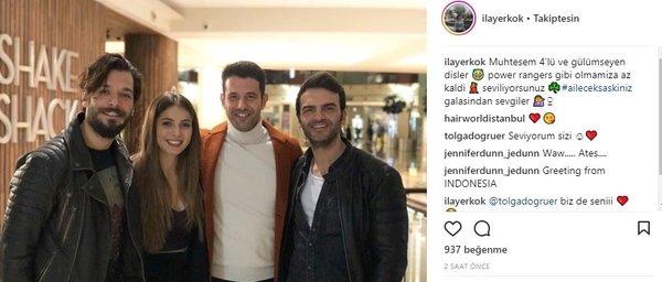 Ünlü isimlerin Instagram paylaşımları (02.03.2018)