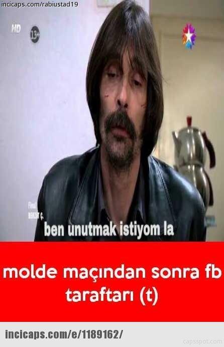Fenerbahçe- Molde maçının capsleri
