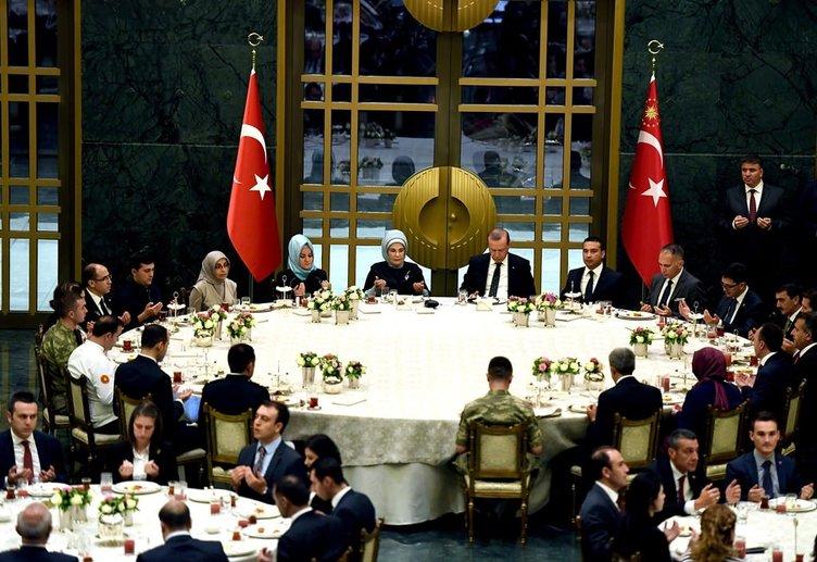 Cumhurbaşkanı Recep Tayyip Erdoğan Beştepe'deki iftar programında konuştu
