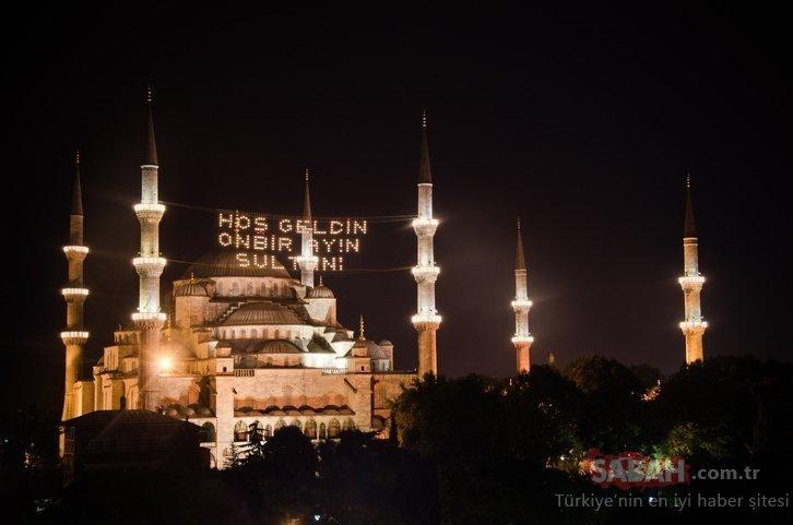 Kilis, Osmaniye imsakiye ile iftar vakti! 2020 Kilis ve Osmaniye'de sahur ve iftar saati kaçta?