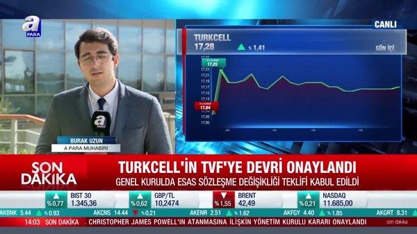 Son dakika haberi... Turkcell'in Varlık Fonu'na devri onaylandı | Video